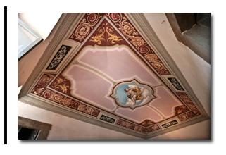 Soffitti decorati decorazione per interni trompe loeil