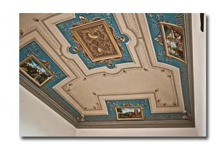 Soffitti decorati decorazione per interni trompe l oeil